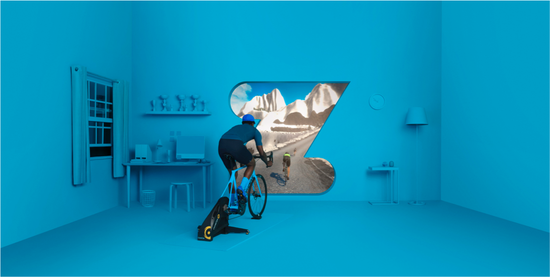 What is Zwift : The Bicycle Chain