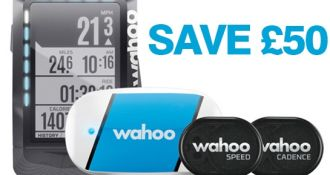 SAVE £50 ON WAHOO ELEMENT GPS