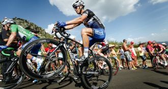 Race-Winning road bikes ridden by the pros