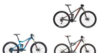 ​Three amazing full-suspension mountain bikes