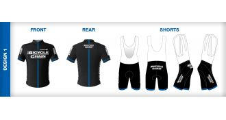 Win a Bicycle Chain cycling kit - Help us choose our new kit design